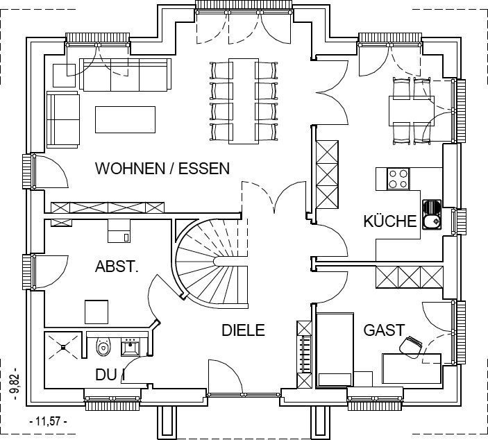 die 25 besten ideen zu grundrisse auf pinterest haus. Black Bedroom Furniture Sets. Home Design Ideas