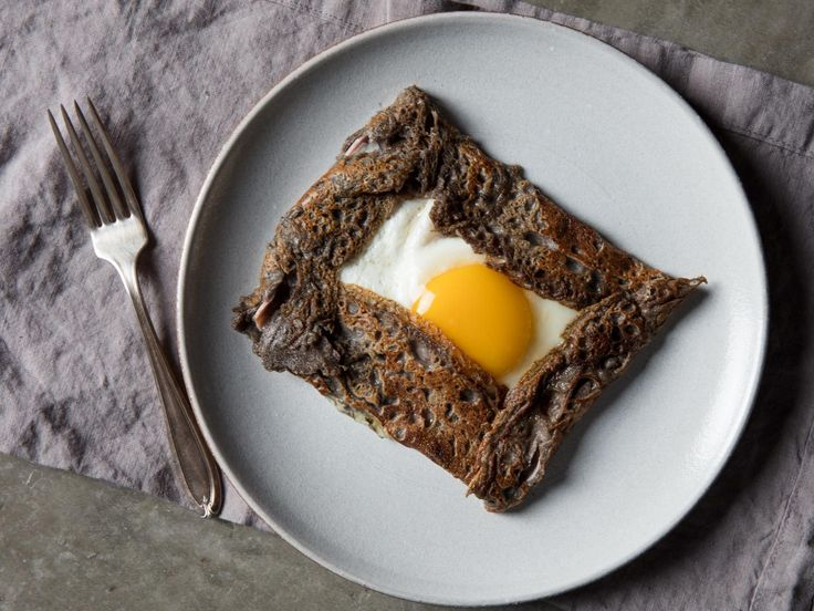 How to Make France's Other Crepes: Savory Buckwheat Galettes Bretonnes