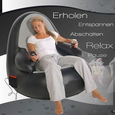 Massagesessel mit elektrischer Pumpe und Fernbedienung