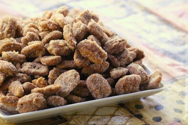 Super Easy Sugar Coated Pecans --> http://www.hgtvgardens.com/recipes/sugar-coated-pecans-recipe?soc=pinterest