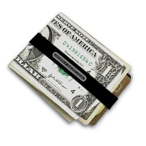 Simplest way to carry your money. Stylish than a rubber band. #Wallet #Money Bands