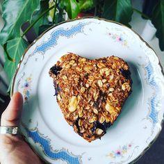 Wortel ontbijt taartje. Puur & onbewerkt plantaardig