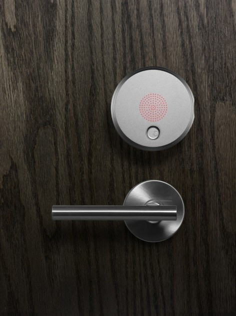 Yves Behar Presents iPhone Operated Security System – August Lock