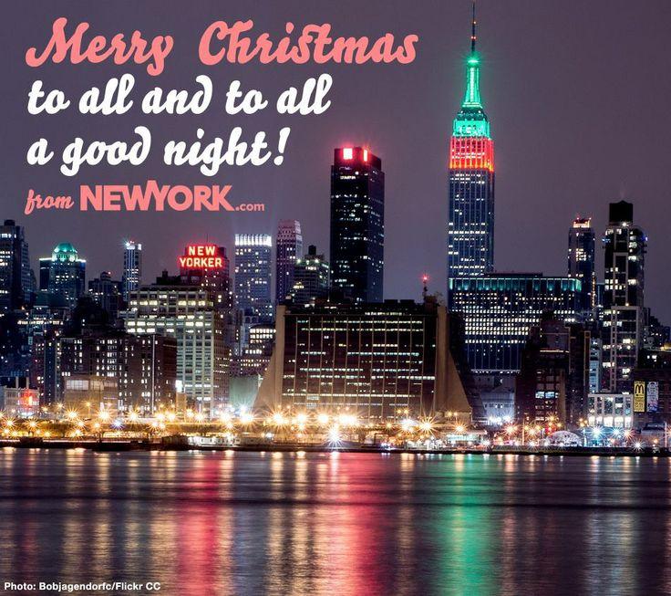 merry christmas nyc
