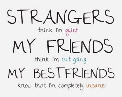 And Only THEY Truly Know Me!!