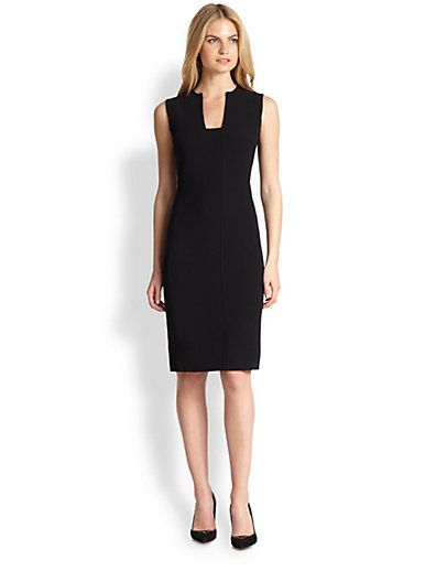 Ralph Lauren black dress for work