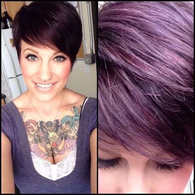 Wat is jouw favoriete haarkleur? Bekijk hier een toffe mix van korte modellen in verschillende haarkleuren! - Pagina 6 van 10 - Kapsels voor haar