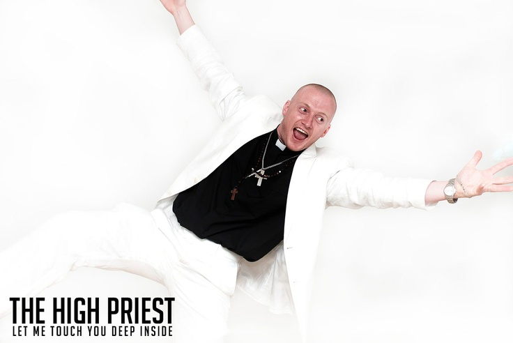 The High Priest in the white suit  www.thehighpriest.co.uk