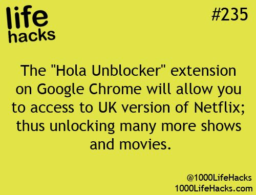 Hola Unblocker (?)