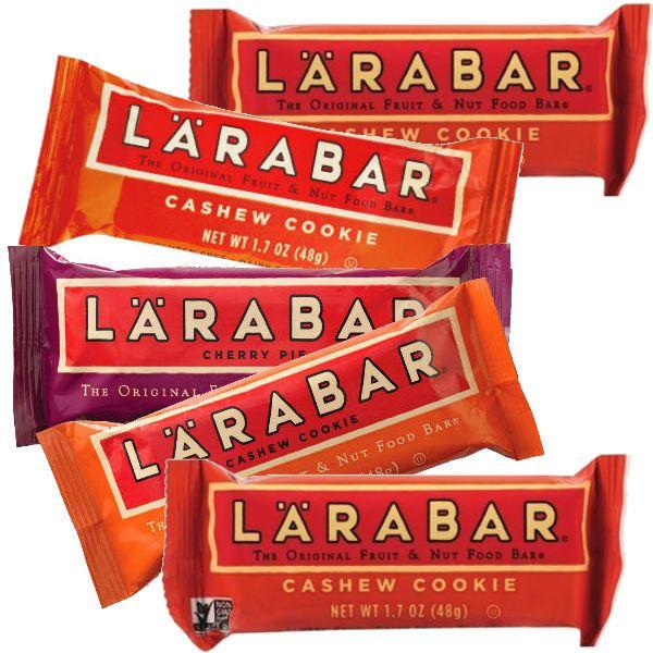 En Walgreens puedes conseguir una variedad seleccionada en Larabar Nutrition Bars a 5 x $5.00 en especial. Compra (5) y utiliza (2) cupones ..