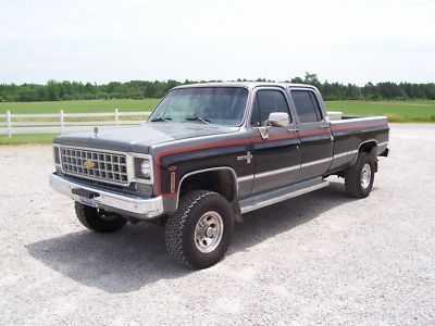 gmc square body crew cab for sale autos post. Black Bedroom Furniture Sets. Home Design Ideas