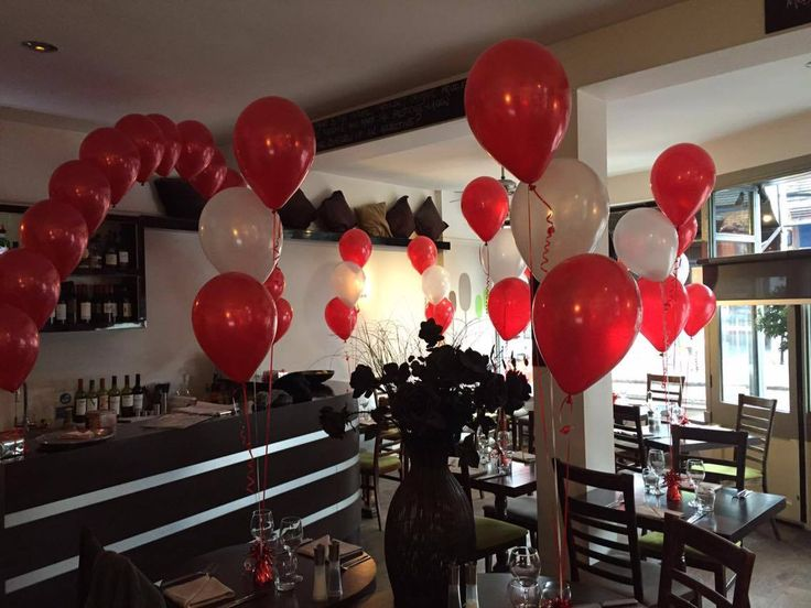 53 best balloon decoration valentine images on pinterest for Balloon decoration for valentines day