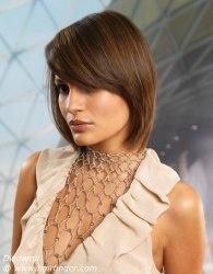 Phenomenal 1000 Ideas About Neck Length Hairstyles On Pinterest One Length Short Hairstyles Gunalazisus