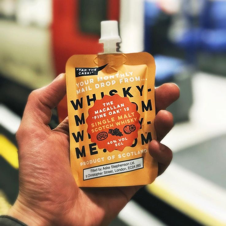 You can now get whisky in Capri Sun-fashion delivered to your door every month | Metro News