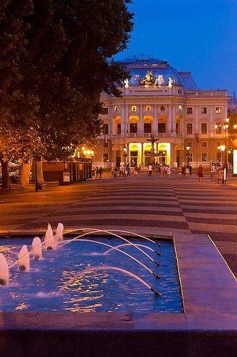 The Slovak National Theatre, Bratislava, Slovakia