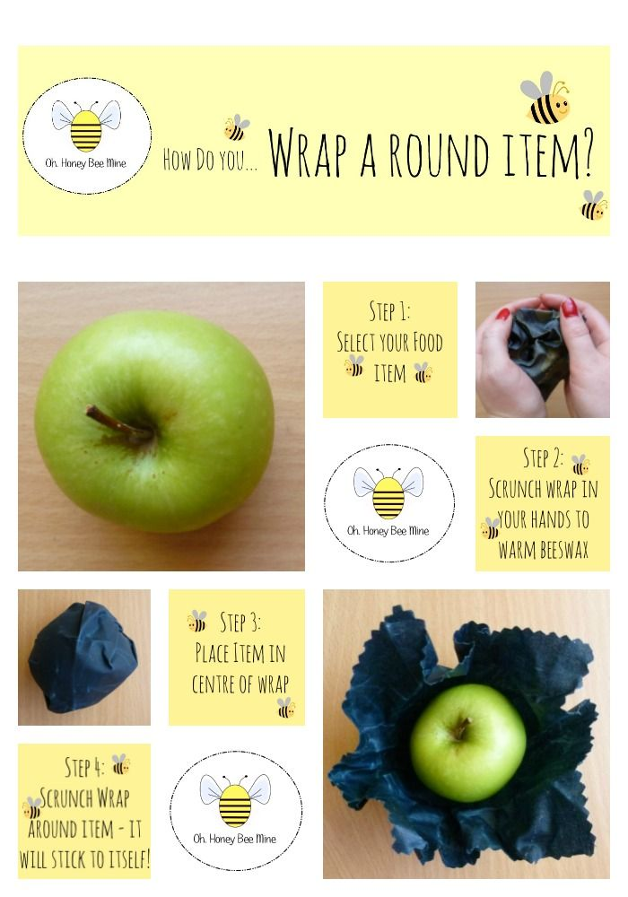 A simple guide to using reusable food wraps