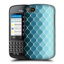 HEAD CASE OMBRE BLUE OGEE PATTERN PROTECTIVE BACK CASE COVER FOR BLACKBERRY Q10