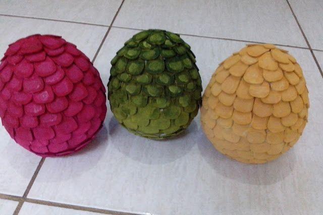 Artesanatos da Dessa : Ovos de Dragão