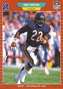 1989 Pro Set #39 Dave Duerson