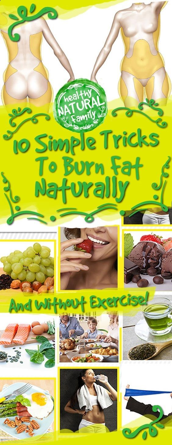 10 Simple Tricks To Burn Fat Naturally