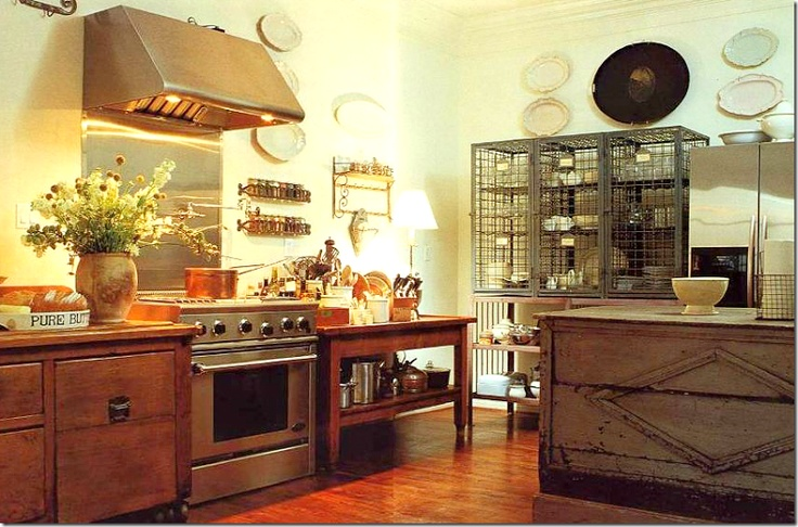 Country Rustic Style Kitchens