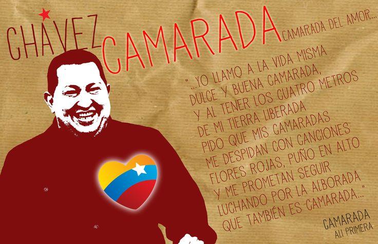Chávez Camarada / Nuevo Hombre