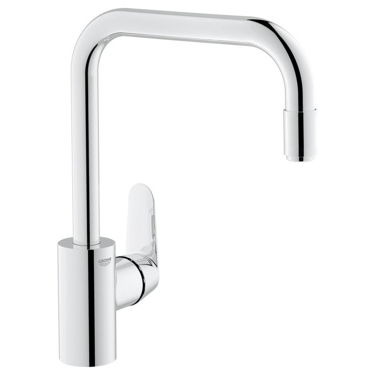 Grohe Eurodisc Cosmopolitan Kitchen Sink Mixer with Pull Out Spray - 31122002 £260