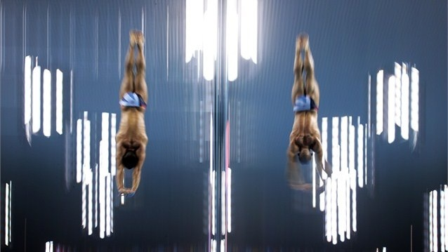 Diver Tom Daley of Great Britain