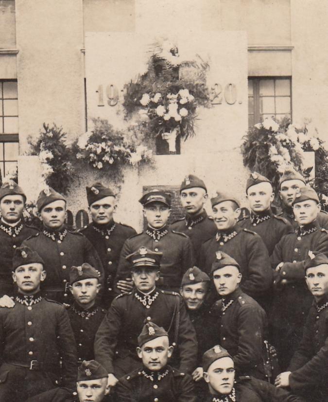 WP II RP - Grudziądz - Żandarmeria wojskowa (Kolekcje Militaria Zdjęcia Polska WP do 1939)