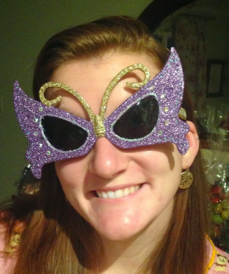 1000+ images about Decorated DIY Sunglasses/Krewe of Iris ...