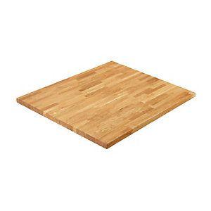 Wickes Solid Wood Dark Oak Breakfast Bar 38x900mmx2m | Wickes.co.uk