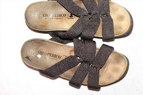 10.00$  Buy now - http://viutr.justgood.pw/vig/item.php?t=te3v9ag4885 - Arcopedico Shoes Women's Size 6.5 (37 EU) Cork bed Sandals 10.00$