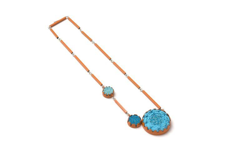Little cluster necklace by Vicki-Mason. www.stanleystreetgallery.com.au