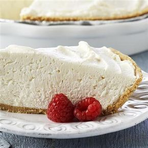 Low Fat Cheesecake Recipe, No-Bake - 8 oz Cool Whip Free - 8 oz 1/3 less fat Philadelphia Cream Cheese - 9 inch reduced fat Graham Cracker Crust - 1/4 cup sugar - 1 tsp lemon juice Directions: In a large bowl, whip cream cheese, lemon and sugar for a few minutes until fluffy. Add Cool Whip and whip until smooth. Spoon mixture into pie crust and chill for a few hours, until firm