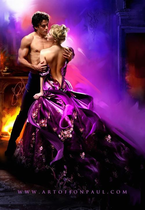 Romance Book Cover Illustration : Photo of jon paul professional ferrara