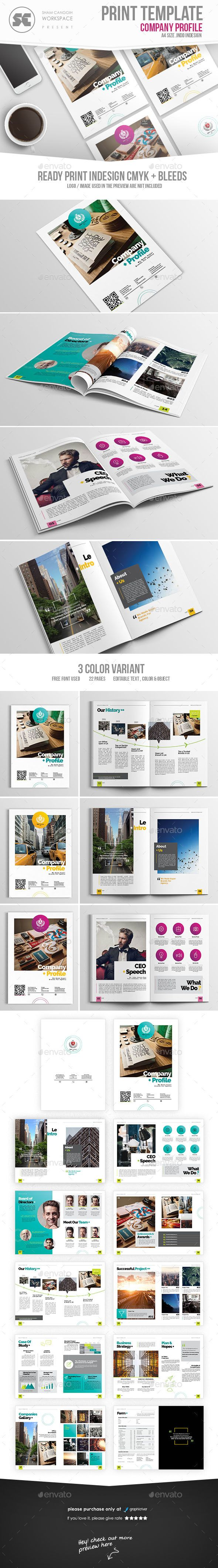 214 best Company Profile Templates images on Pinterest   Brochure ...