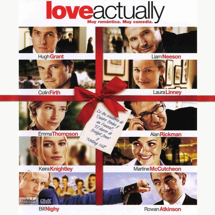 Love Actually...when you need a good laugh and relax watch this movie.