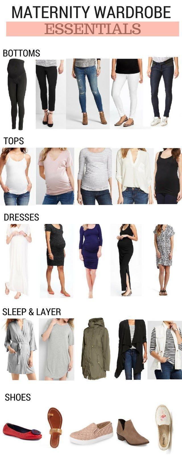 fa8f28e8e Maternity Wardrobe Essentials | Self | Pregnancy wardrobe, Maternity ...