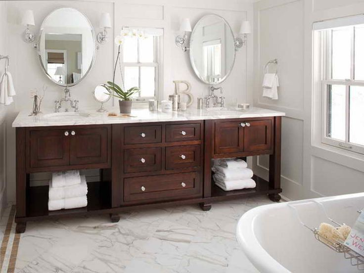 Bathroom Vanities Two Sinks 120 best bathroom ideas images on pinterest   master bathrooms