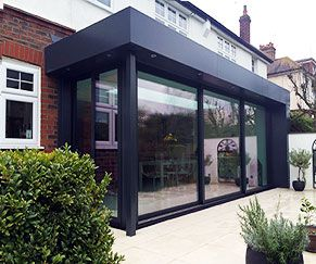 15 best images about modern extension on pinterest house - Glass extensions to houses ...