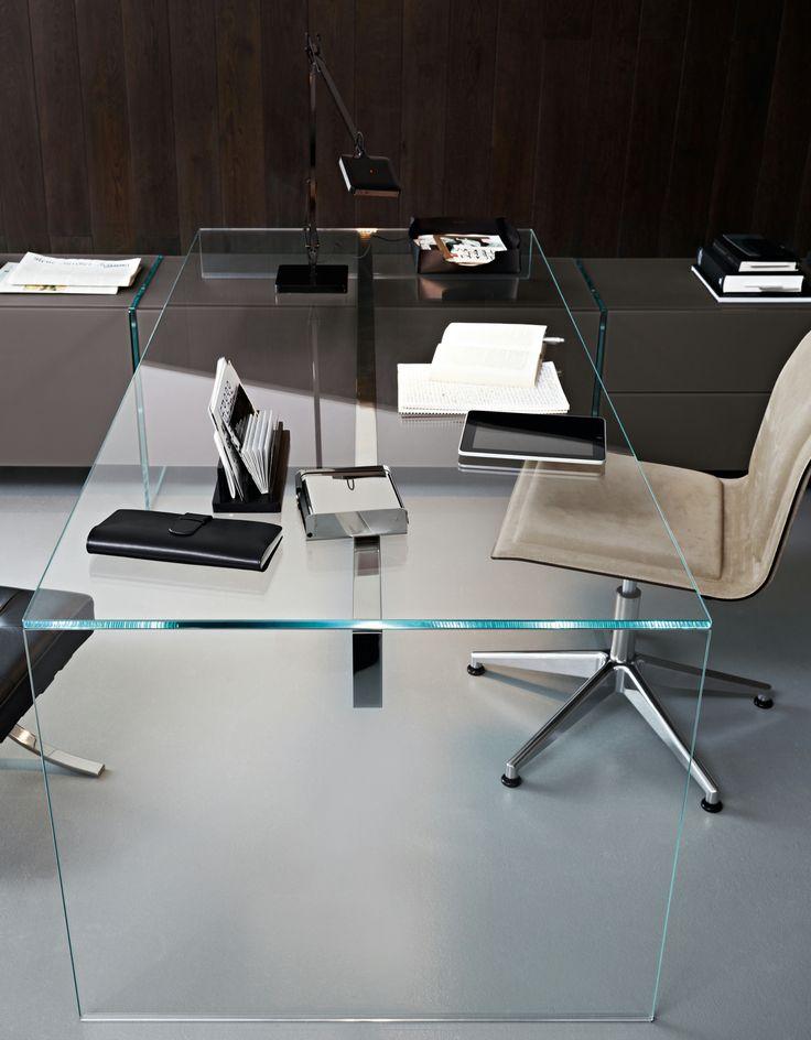 Crystal writing desk AIR DESK 1 - @gallottiradice