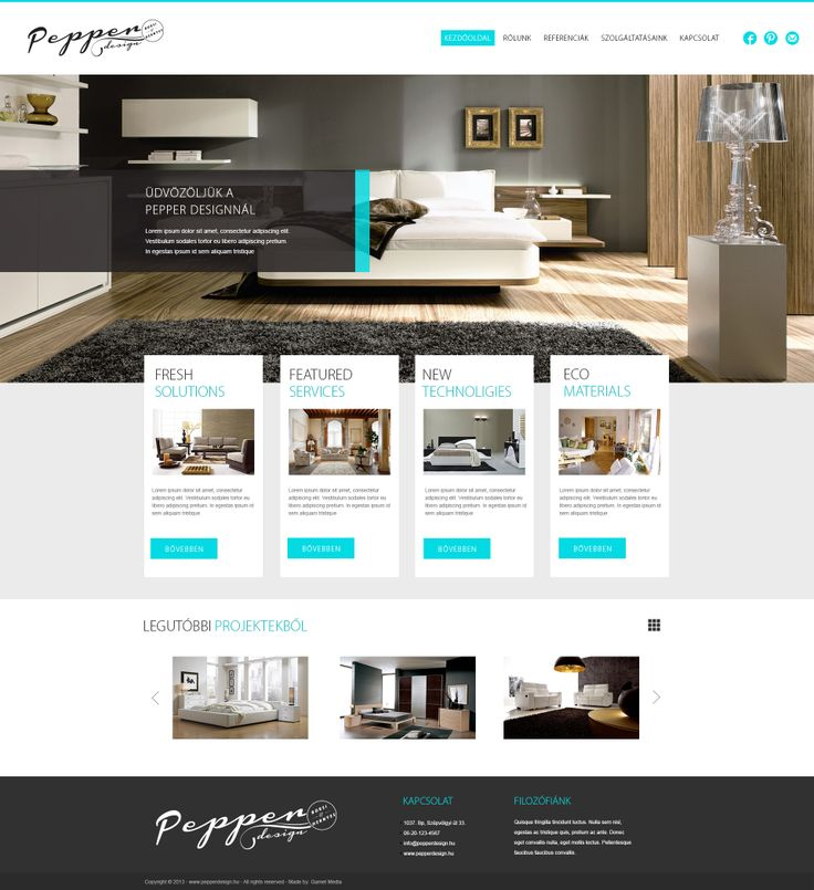 Pepper Design - webdesign