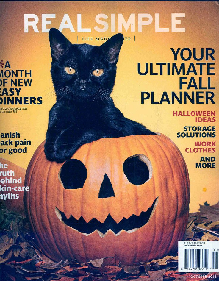 Real Simple's October issue
