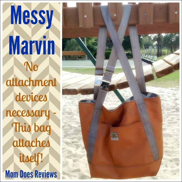Messy Marvin on the Move #Review.  Best diaper bag for #clothdiapers I have ever used! ~ Victoria