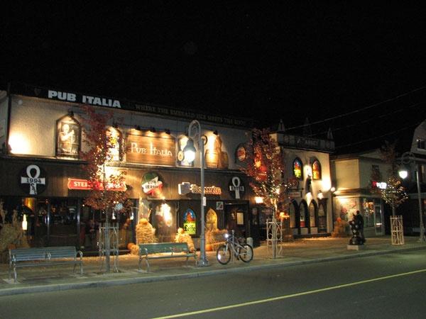 Pub Italia on Preston Street, Ottawa.   Food is delish and they have over 200 beers