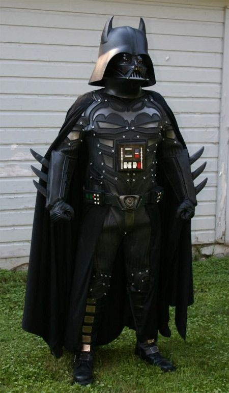 The most important thing in life is to be yourself. Unless you can be Darth Batman. Always be Darth Batman