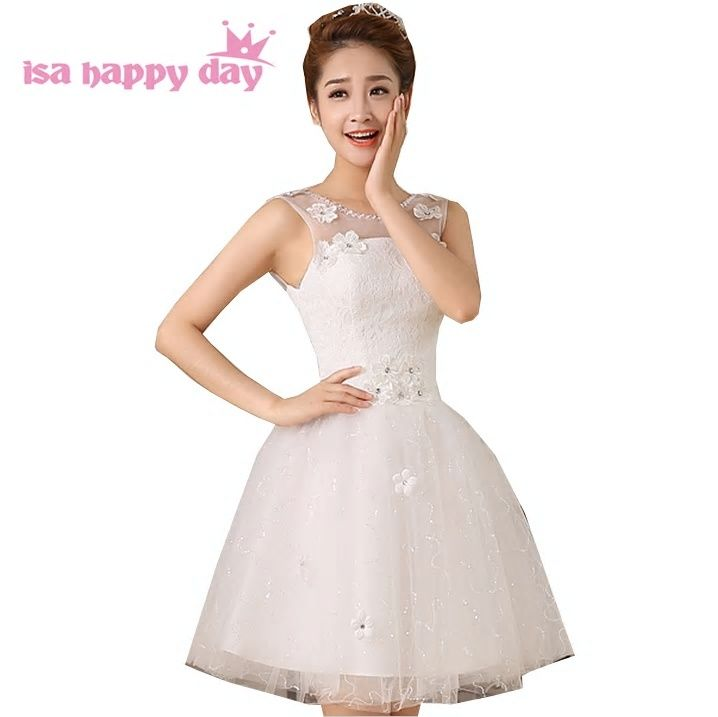 48def9803 new arrival robes de soiree short puffy applique prom dress tulle sleeveless  ball special occasion dresses W2586