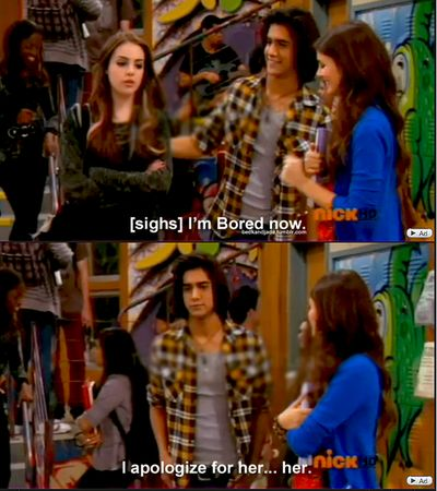 The moment when you realise... you are Jade West