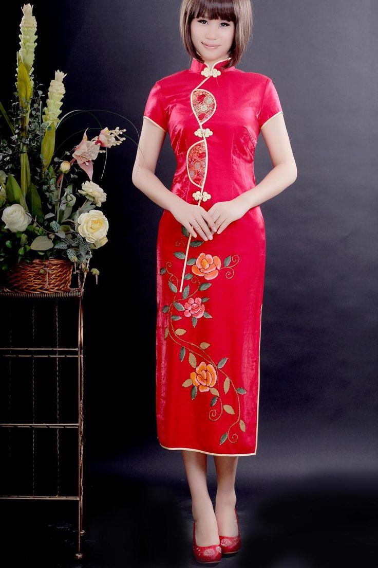 Ok wedding gallery the beauty dress of cheongsam 2013 - Images Of Cheongsaams For Asian Women Cheongsam Wedding Dresses For Chinese Girls 2013 14