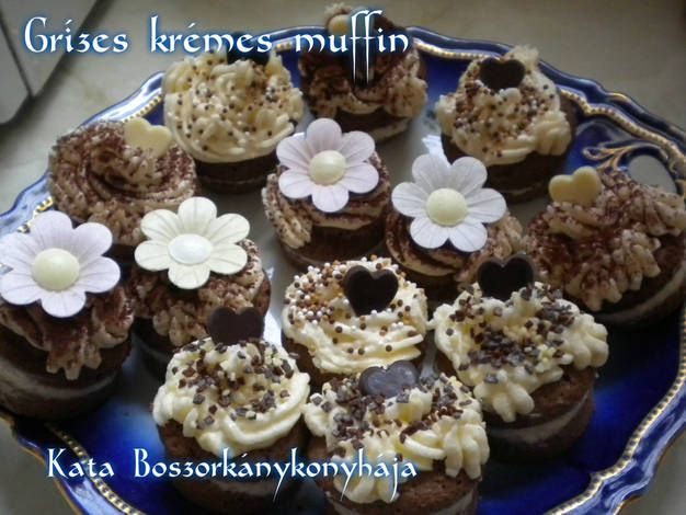 Grízes krémes muffin (Gluténmentesen is!)